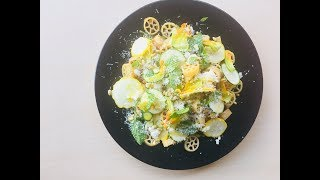 Perfect Summer Pasta Salad with Zucchini and Rotelle | 쥬키니 파스타 샐러드