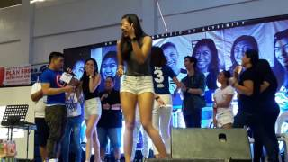 Happy birthday Alyssaaaaaaaaa sabi ni Laura haha! (Alyssa Grand Fans day)