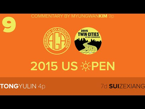 2015 US Open Masters Final: Tong Yulin 4p vs Sui Zexiang 7d with live comments by two 9p