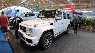 BRABUS G 700 BITURBO MERCEDES BENZ G-CLASS WHITE COLOUR WALKAROUND