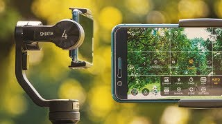 Next-level phone filmmaking: Zhiyun Smooth 4 gimbal review