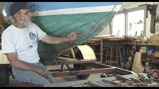 Herreshoff 14 repair - Caulking seams with cotton and TIPS Season 2 Announcement