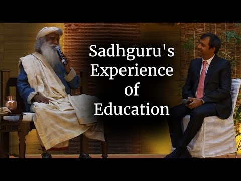 Watch Sadhguru's Experience of Education with CEO of EduComp