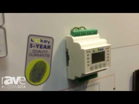 CEDIA 2016: ekey Demos Home Fingerprint Accessibility