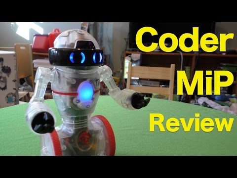 Coder MiP Robot Review, Programmable Balancing Robot from WowWee