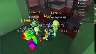 Playing with a friend and I'll participate in a series - ROBLOX flood escape 2 - joaquinxloko