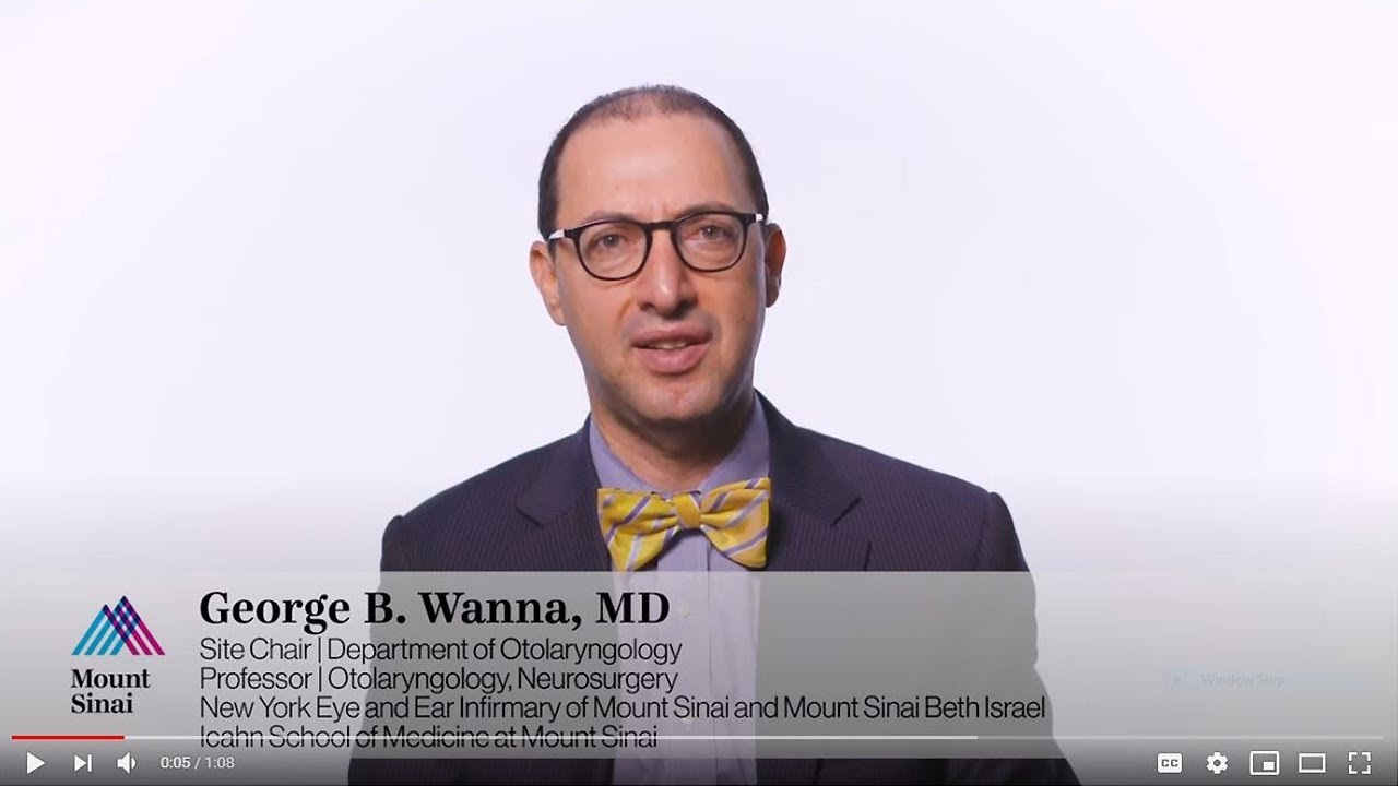 George Wanna, MD: Celebrating the Spirit and History of New York Eye & Ear Infirmary of Mount Sinai