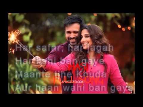 Hasi ban gaye Hd songs-Ft.Emraan hashmi,vidya balan
