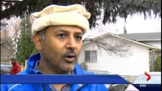 Ahmadiyya Muslim Immigrants to Canada prepare for first Saskatoon snow fall
