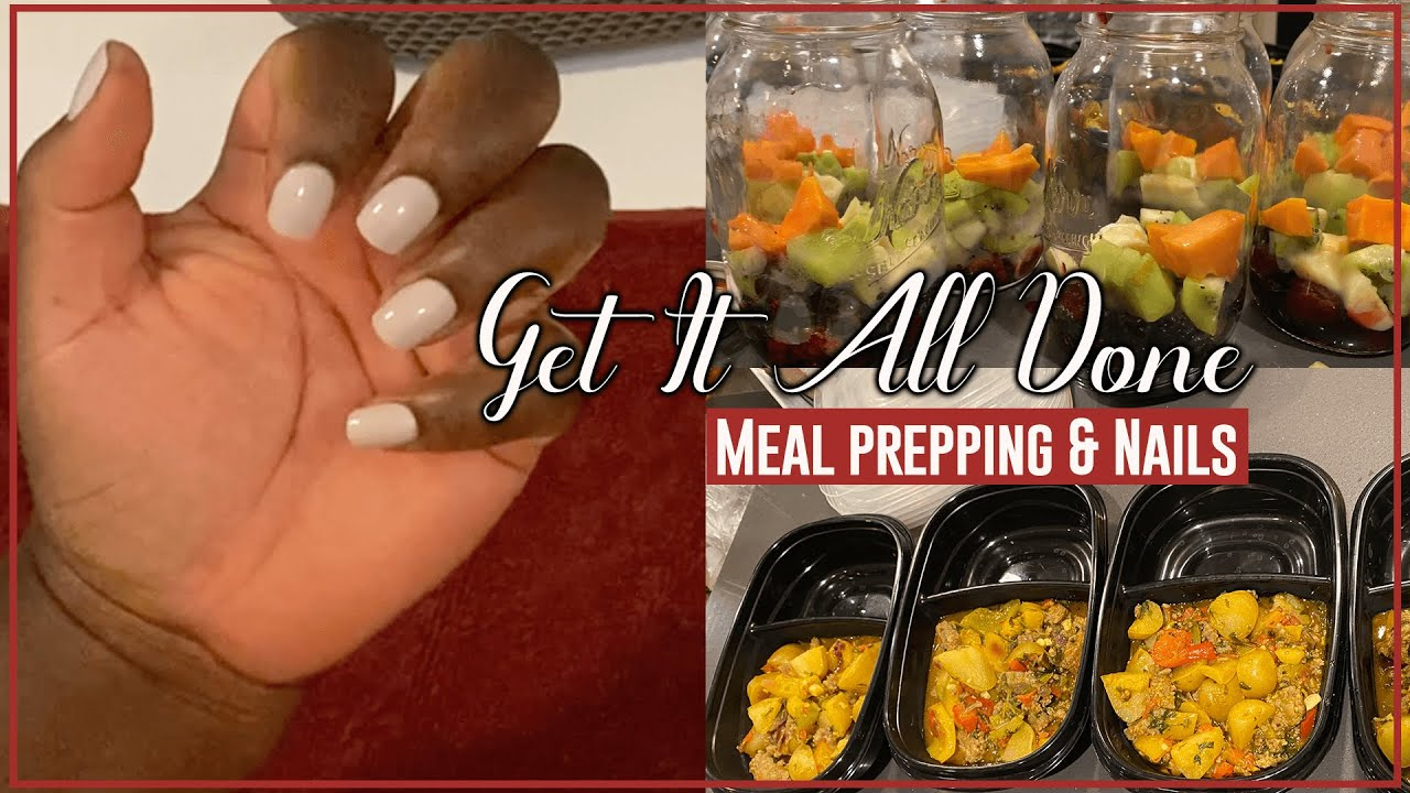 GET IT ALL DONE WITH ME | SELF-CARE | COOK WITH ME | MEAL PLANNING AND MEAL PREP | Faith MatIni