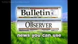 TEN Rockhampton: Morning Bulletin / Observer Commercial {45s version} (1997)