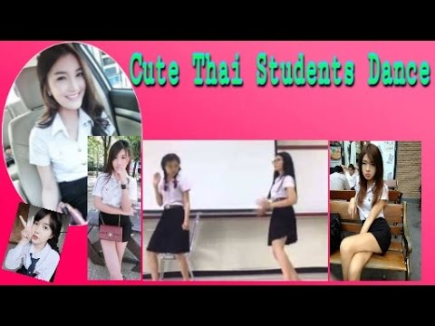 Cute Thai Student Dance Korean Style In Dancing Contest Thailand Youtube