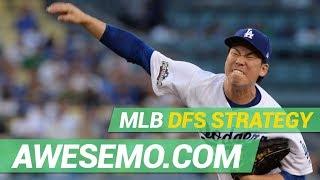 MLB DFS Strategy - Tue 4/23 - DraftKings FanDuel Yahoo - Awesemo.com