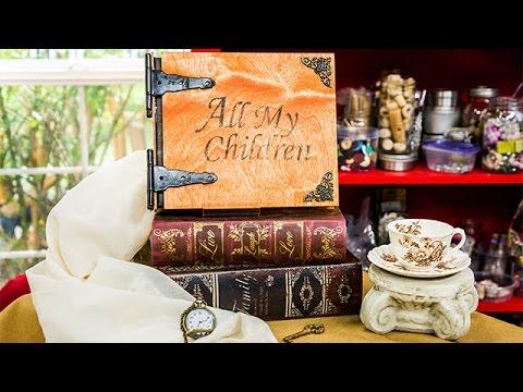 How To - Paige Hemmis' DIY Wooden Photo Album - Hallmark Channel