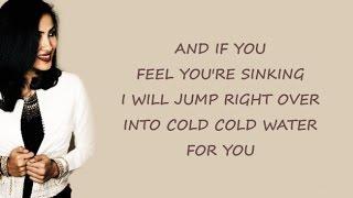 COLD WATER - Major Lazer (ft. Justin Bieber & MØ) | Vidya Vox Cover (Lyrics)