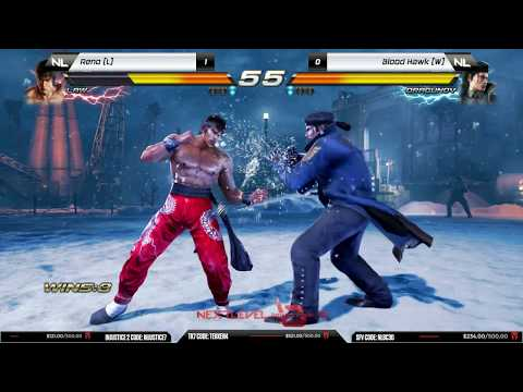 Grand Final: Reno (Law) vs Blood Hawk (Dragunov/Leo) - NLBC v.72 - Tekken 7 [1080p/60fps] HD