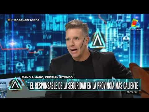 Cristian Ritondo:  Creo que Macri y Vidal van a ser reelectos