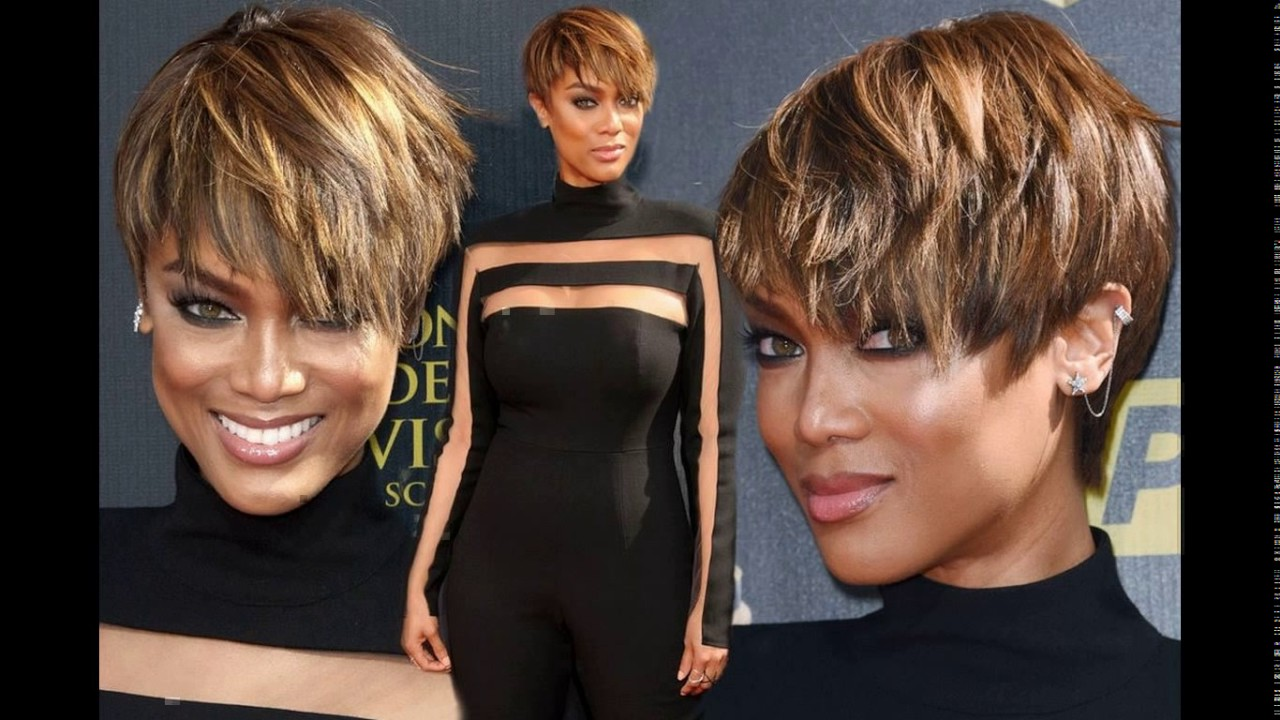 Tyra banks short haircuts