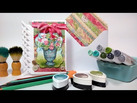 Lattice Fold Card Tutorial {EASY!)