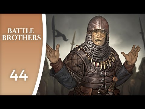 Nasty enemies, but in small number - Let's Play Battle Brothers #44