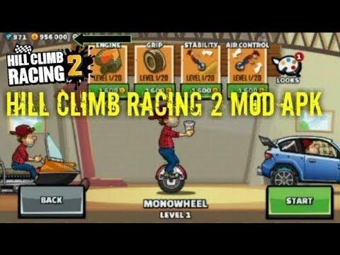 Tutorial Cara Download Hill Climb Racing 2 MOD Cheat Di Android
