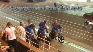 Crash Ukranian Team Sprint (Львов падение итальянки)