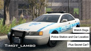 Watch Dogs: PD/Police Car Location