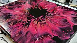 (471) Top 10 RED Viewer Favorite Acrylic Pour Paintings! Harmony House Art Therapy