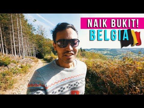 NAIK BUKIT DI BELGIA! | BELGIA PART 1 | REZZVLOG