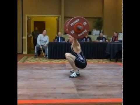 Snatch at 2012 American Masters Weightlifting Championships