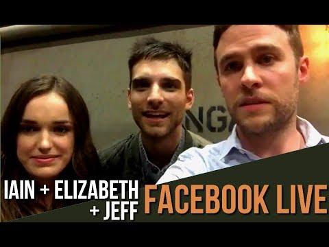 Season5  Iain De Caestecker, Elizabeth Henstridge e Jeff Ward: Facebook Live no dia 09042018.
