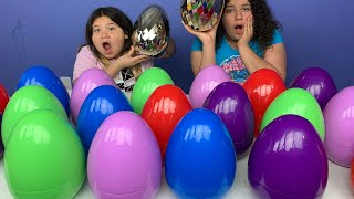 Don't Choose the Wrong GIANT Easter Egg SLIME Challenge