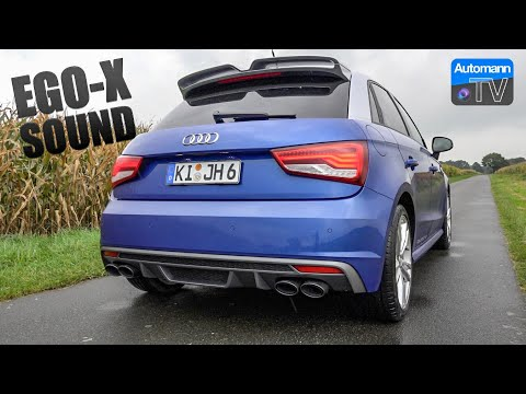Audi S1 Sportback EGO-X - pure SOUND (60FPS)