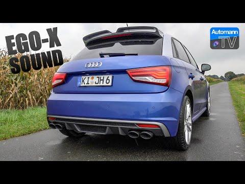 Audi S1 Sportback EGO-X - pure SOUND (60FPS)