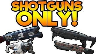 Destiny 2 SHOTGUNS ONLY PvP!    Funny Crucible Gameplay