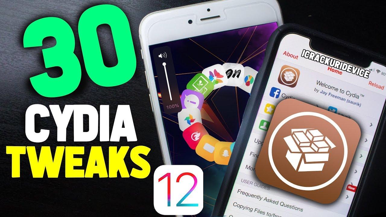 Top 100 iOS 12 Cydia Tweaks for iOS 12 1 2 Unc0ver Jailbreak