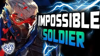 Unstoppable Carry Soldier 76 - Gale! 45 ELIMS! [ OVERWATCH SEASON 13 TOP 500 ]