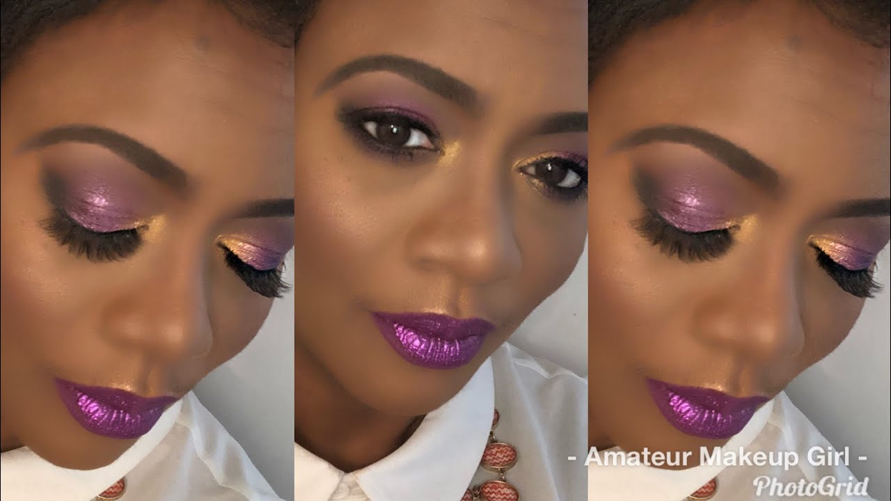 Makeup Fun Too Faced Chocolate Gold Palette Kat Von D Glimmer Veil Lipstick In Razzle