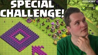 SPECIAL CHALLENGE || CLASH OF CLANS || Let's Play COC [Android iOS] Ansicht Fred