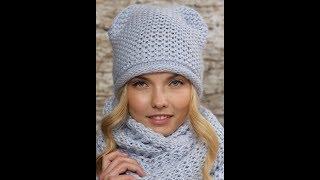 Вязание Шапок Спицами - модели - 2019 / Knitting Caps Knitting