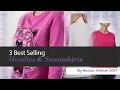 3 Best Selling Hoodies & Sweatshirts By Kenzo, Winter 2017