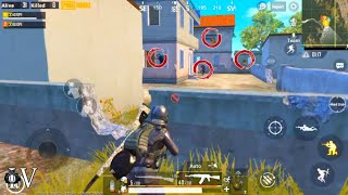 GIRL GAMER VS PRO SQUAD PUBG MOBILE | 1V4 CLUTCH THEY MUST BE MAD