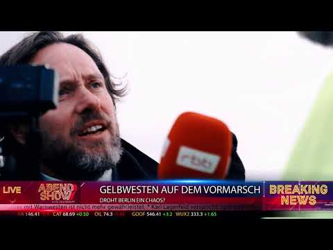 Gelbwesten in Berlin (Satire)