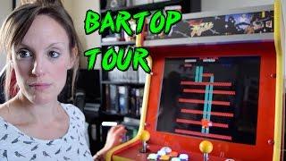 645 Classic Arcade Games - Tour of my Bartop Arcade Machine! (TheGebs24)