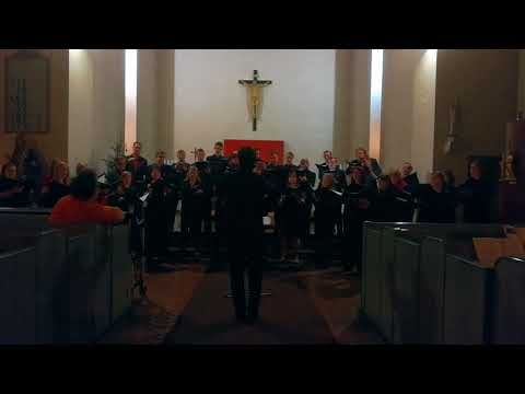 Seán Doherty - Blessed be that maid Marie. Chamber Choir Kampin Laulu, Helsinki, Finland.
