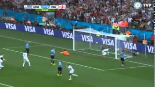 Uruguay 2 - Inglaterra 1 GOLES
