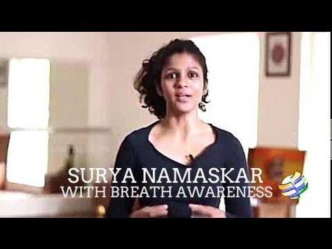 surya namaskar part2 breath awareness  youtube