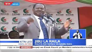 Malumbano kati ya Naibu wa Rais William Ruto na Raila Odinga yashika kasi