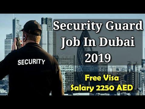 Security Guard Job In Dubai 2019 | Free Visa | Apply Fast | Free Job Guide | Hindi Urdu