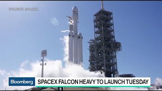Musk Sets Low Bar for SpaceX's Falcon Heavy Rocket Launch